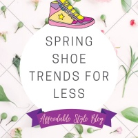 Spring Shoe Trends for Less